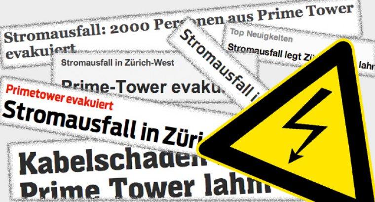 Stromausfall Schweiz